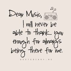 Thank you music for expressing myself when I can't find the words to do so. Music Is My Escape, Music Is Life, My Music, Rock Music, Hippie Music, Music Concerts, Motivacional Quotes, True Quotes, Qoutes