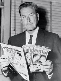 Errol Flynn - died at 50, life was hard on him at the end, he was very ill and broke.