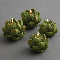 Artichoke Candle Set