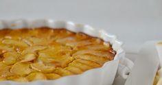 Una deliciosa tarta de manzana, fácil y rápida de preparar.