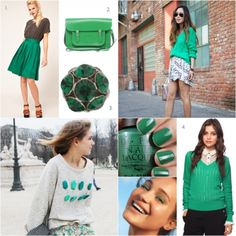 5 Ways To Wear The Color Green!