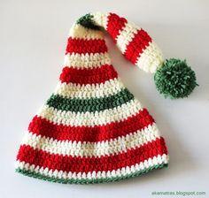 ab90352e350dc Santa s helper hat - Crochet pattern