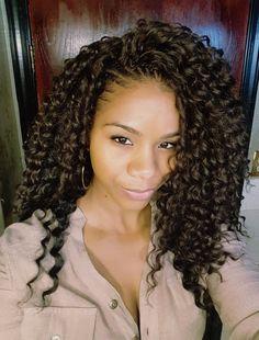New Crochet Braids Deep Twist Freetress Ideas – crochetbraids Curly Crochet Hair Styles, Crochet Braids Hairstyles, Braided Hairstyles, Curly Hair Styles, Natural Hair Styles, Crazy Hairstyles, Short Haircuts, Natural Braids, Crochet Braid Styles