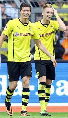 Robert Lewandowski and Marco Reus (2013/14)