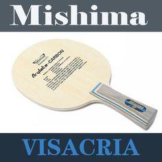 Buena calidad visacria 30041 hoja de la raqueta de tenis de mesa murciélagos de ping pong mango largo FL tipo chop reproductor de bucles de ataque rápido paddle