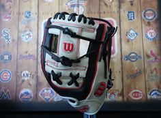 "Wilson A2000 Limited Edition 11.25"" Baseball Glove 1788 - Black/Grey/Red"