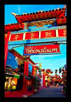 Chinatown Los Angeles - On the drive to work - Repinned by Merry Tree Lane.