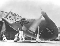 Vought V.173 - Vought V-173 - the Flying Flapjack, which was flown by Charles Lindbergh, among other test pilots.