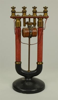'PAGE'S' MAGNETIC REVOLVING ARMATURE; height: 11 i...