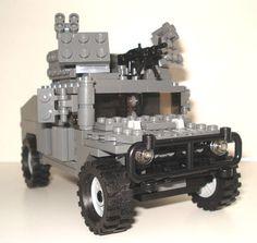Lego Custom Modern Military Humvee Hummer w Heavy Machine Gun Armor Variant   eBay