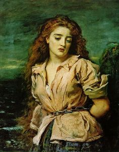 John Everett Millais - The Martyr of the Solway, 1871