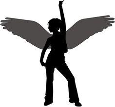 How to Make Black Angel Wings