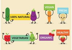 Veggie Friends Diet Banner Vectors - https://www.welovesolo.com/veggie-friends-diet-banner-vectors-2/?utm_source=PN&utm_medium=welovesolo59%40gmail.com&utm_campaign=SNAP%2Bfrom%2BWeLoveSoLo