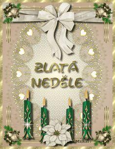 Czech Republic, Motto, Advent, Merry Christmas, Santa, Frame, Decor, Merry Little Christmas, Picture Frame