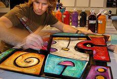 3 Dimensional Gallery (The art of Eric Waugh) Art Cart, Sculpture Projects, Art Music, Project Ideas, Classroom Ideas, Mixed Media, Abstract Art, Artists, 3d