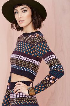 Sloper Sweater - Cropped | Tops