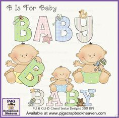 B is for Baby - Cheryl Seslar Designs