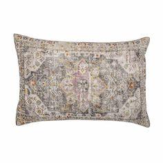 Bloomingville Cushion Grey w//Black H30 cm P