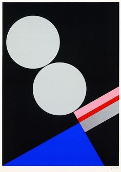 Walter Dexel, abstract composition, 1972. Serigraph. Ketterer...