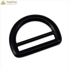 These black d rings with bars are made of zinc alloy, they are strong and thick. They can tolerate greater tension than those non-welded d rings, so they are usually used forluggage strapsorbackpacks.  Our d rings are customized, you can tell us about your requests, and we will meet your needs. Detail Picture