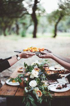 Romantisches Dinner für Zwei.