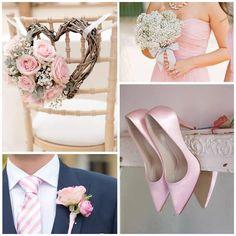Kleurinspiratie: zachtroze kleuraccenten voor jullie bruiloft www.weddings.nl