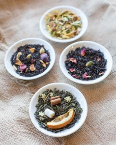 Holiday Teas from TeaSource: black tea, green tea, and herbal tea!