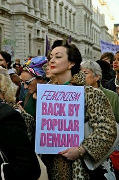 "nprfreshair:  President of Barnard College Debora Spar writes in her new book ""Wonder Women"" about how feminism became privatized:  I think ..."