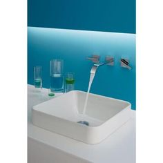 KOHLER Vox Above Counter Bathroom Sink in White-2661-0 at The Home Depot
