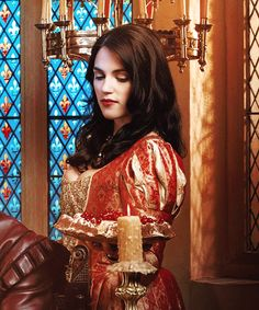 Katie Mcgrath as Bess, one of the King's mistress - The Tudors in Ep. 2.05 His Majesty's Pleasure