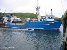 """F/V """"Alaska Rose"""" Built in 1979 by Walker James K. Marine in Moss Point, MS. 412 tons. Former name HAZEL LORRAINE I (period unknown)"""