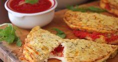 Cauliflower Crust Calzone - Grain-free, gluten-free and beyond delicious!