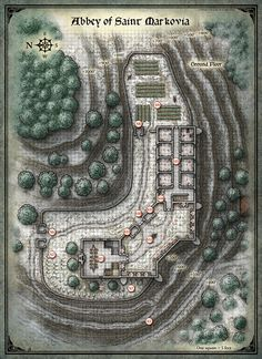 Curse of Strahd; Abbey of Saint Markova 1 (Digital DM & Player Versions) $1.75