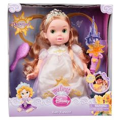 Amazon.com: My First Disney Princess Baby Deluxe Rapunzel: Toys & Games