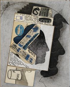 Today is David Hockney's 77th birthday. His silhouette, drawn by Ray Johnson, features in this collage, which is in our current exhibition, Please Return To, named by the Huffington Post as one of New York City's summer art shows to see before September. Don't miss your chance–come and see the show today.Untitled (Hockney and Duchamp Profiles with Puck Drawing), 1977. Collage on masonite, 11-7/8 by 8-7/8 inches.