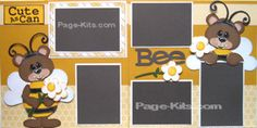 Cute as Can BEE Page Kit. Direct Link: http://www.page-kits.com/item_770/Cute-As-Can-Bee-Page-Kit.htm