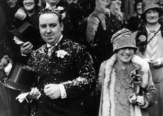 Film director and producer Alfred Hitchcock married his assistant director, Alma Reville in 1926.  The marriage lasted until his death in 1980.