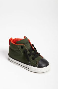 Converse 'Street Mid Cab' Sneaker (Walker & Toddler) available at #Nordstrom