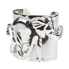 Elephant Cuff...So cute for Alabama game days!