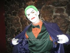 Cool Homemade Hulk, Storm, Captain America and Joker Costumes Joker Costume, Four Kids, Homemade Costumes, Hulk, Captain America, Cool Stuff, Costume Ideas, Fictional Characters, Collection