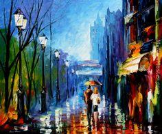 Leonid Afremov: Memories Of Paris