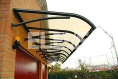 Cheap Patio automatic polycarbonate awning Outdoor Awnings, Window, Door and Porch Awnings Custom Porch Awning, Awning Canopy, Patio Canopy, Diy Canopy, Patio Roof, Pergola Garden, Pergola Swing, Diy Pergola, Pergola Plans