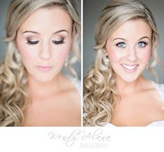 Wedding photography - bridal makeup www.wendyalanaphotography.com ©Wendy Alana Photography