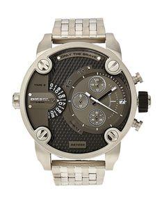 Diesel DZ7259 Silver-Tone Watch