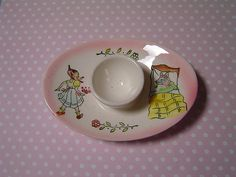 vintage egg cup by damselfly58, via Flickr-How SWEET!