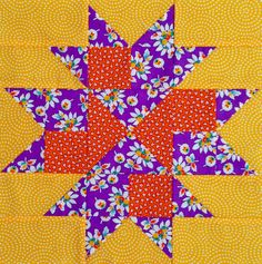 """2nd block for my """"El's Kitchen"""" quilt."""