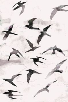 Flight Art Print by Georgiana Paraschiv   Society6 très beau, presque un tableau