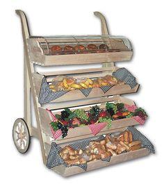 Rustic Upright Cart