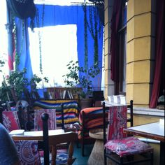 At Timbuktu on Long street in Cape Town. Love all the colors Cape Town, 30 Years, All The Colors, Around The Worlds, Curtains, Decorating, Street, Life, Home Decor