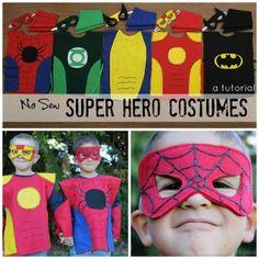 Of Rockstars, Superheroes & Those In Between: Last Minute, Easy DIY Hallowe'en Costumes For Kids